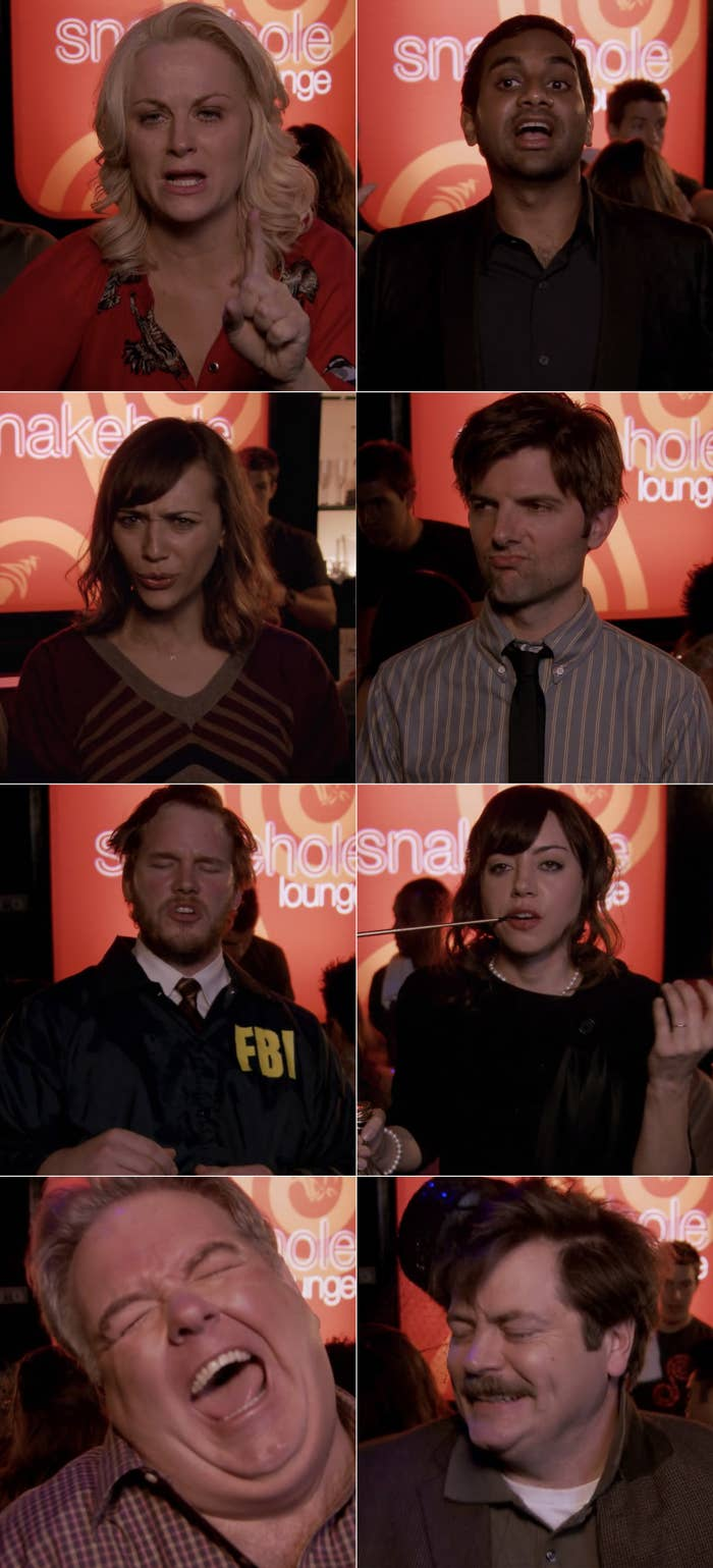The Fight from Parks and Rec TV Episodes