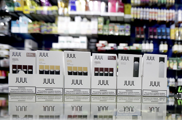 Juul Shipped At Least A Million Contaminated Pods, New Lawsuit Says