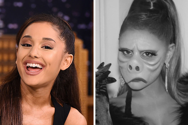 Here's Your Much-Needed Explainer On Ariana Grande's Halloween Costume This Year