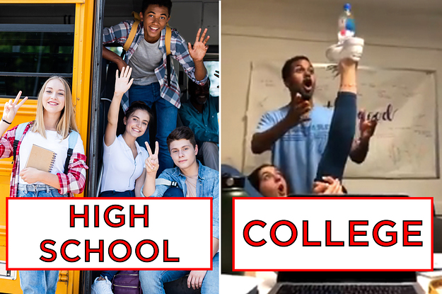 15 Tweets That Prove High School And College Couldn't Be More Different