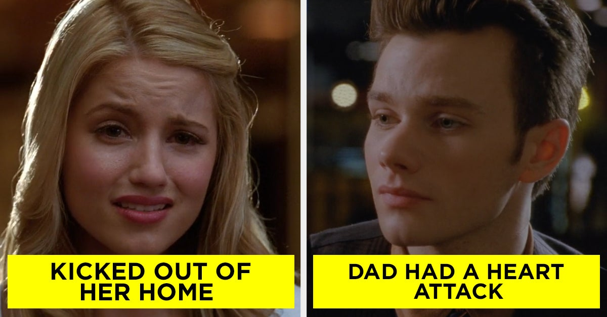"19 Unexpectedly Dark Moments From ""Glee"" You Never Saw Coming"