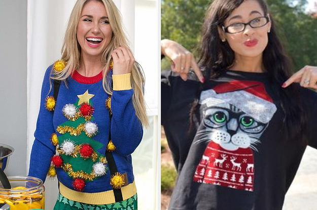 Really Ugly Christmas Sweater.27 Ugly Christmas Sweaters You Can Get On Amazon