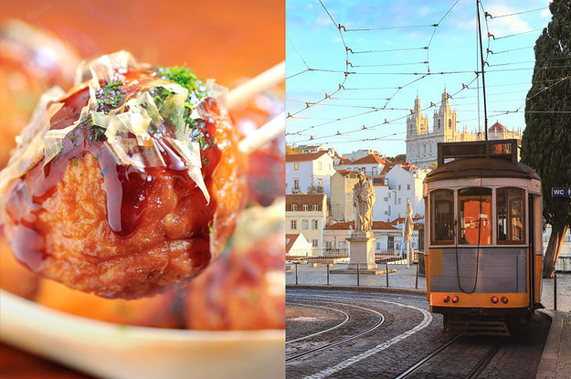 Eat Your Way Around The World To See What Country You Should Actually Live In
