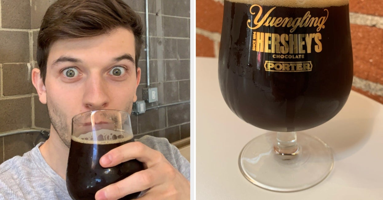 I Tried Hershey's New Beer — Yes, Beer — And Here's What Happened