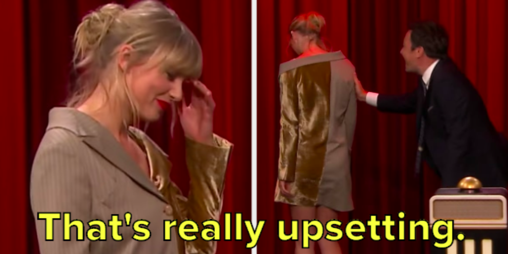 "Taylor Swift Didn't Recognize Her Own Song On ""The Tonight Show"" And It Was Hysterical"