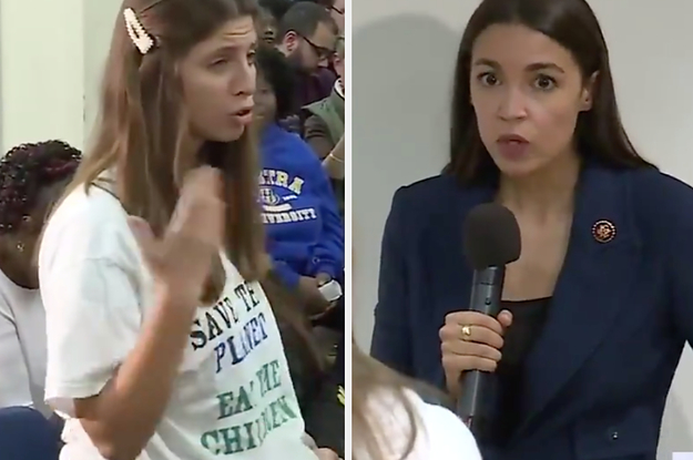 """Trump Attacked AOC Over The """"Eat The Babies"""" Viral Video — But It Was Staged By A Pro-Trump Conspiracy Group"""