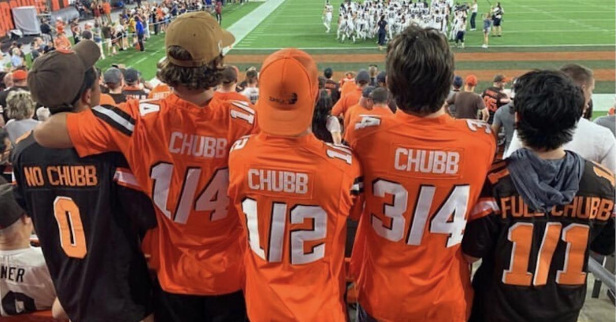nick chubb jersey kids