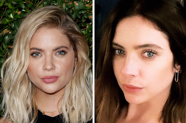 Ashley Benson Went Brunette For Fall And She Looks Like A Different Person