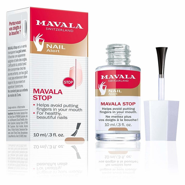 the nail polish-like bottle of mavala stop