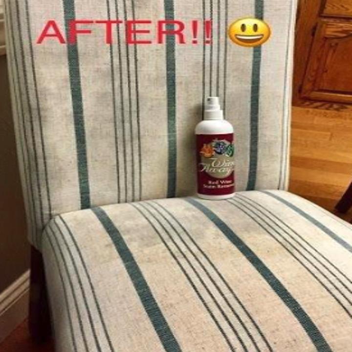 the same chair all clean