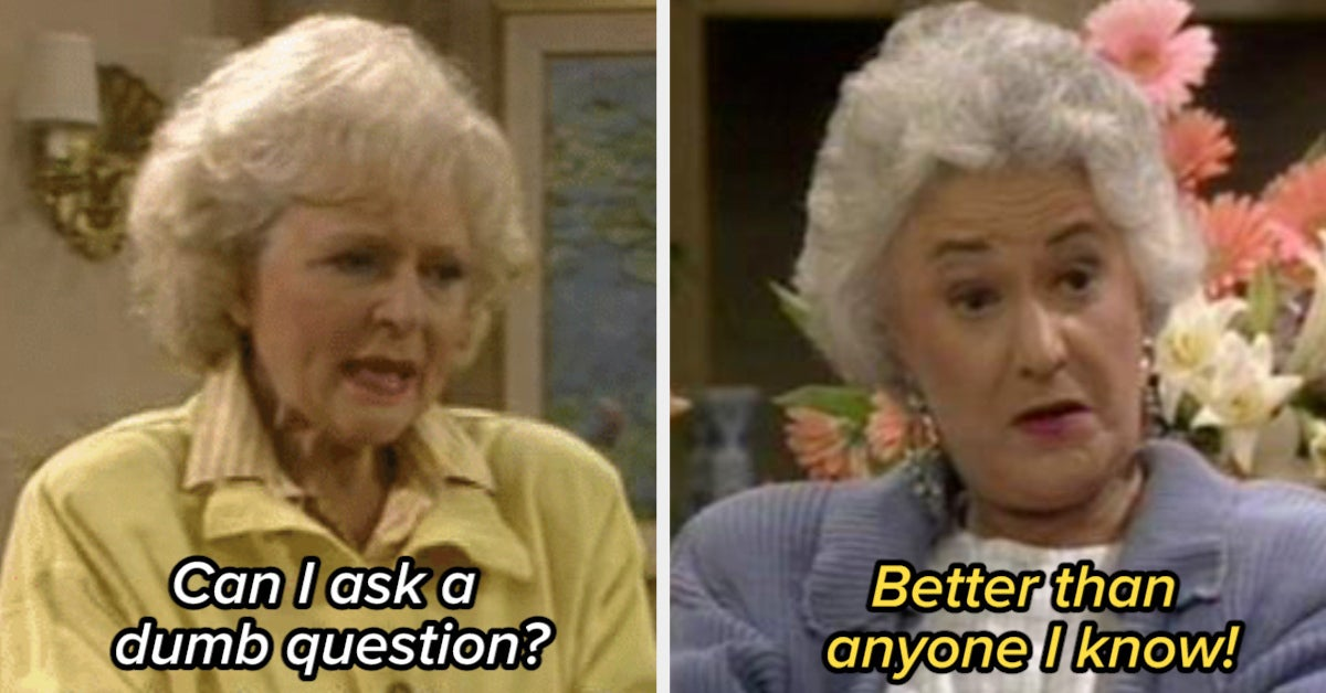 """16 Times """"The Golden Girls"""" Roasted The Hell Out Of Rose"""