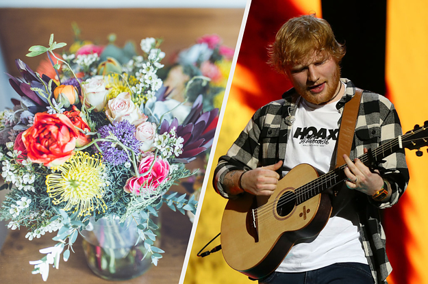 We Know Which Artist Should Perform At Your Wedding From The Flowers You Pick