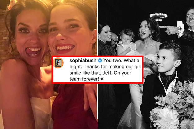 "The ""One Tree Hill"" Ladies Reunited At Hilarie Burton And Jeffrey Dean Morgan's Wedding, And It's Perfect"