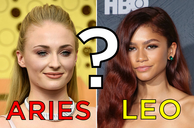 Can You Guess These Celebs' Zodiac Signs?
