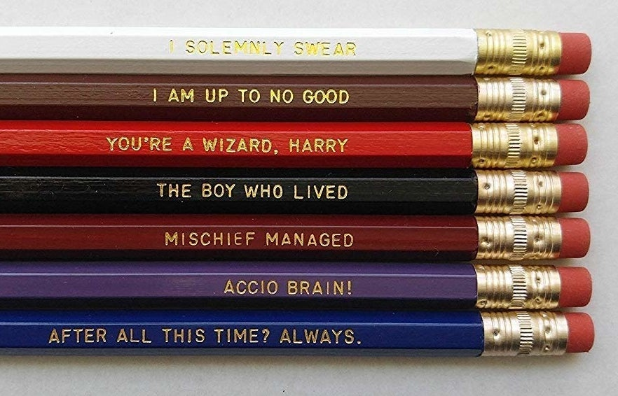 the pencils
