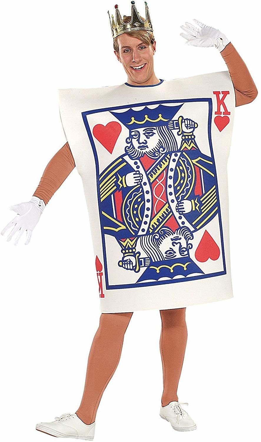 Adult male king of hearts