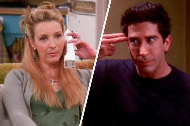 """I Bet You Can't Get 20/26 On This A-Z Of """"Friends"""""""