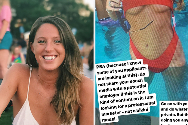 A Potential Employer Called A 24-Year-Old Unprofessional For Posting Bikini Photos And It Backfired