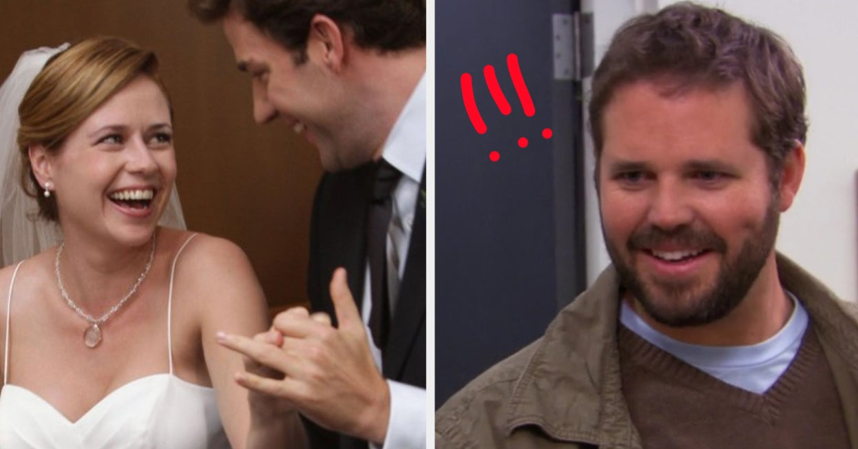"Jim And Pam's Wedding On ""The Office"" Almost Had A Really Dark Ending"