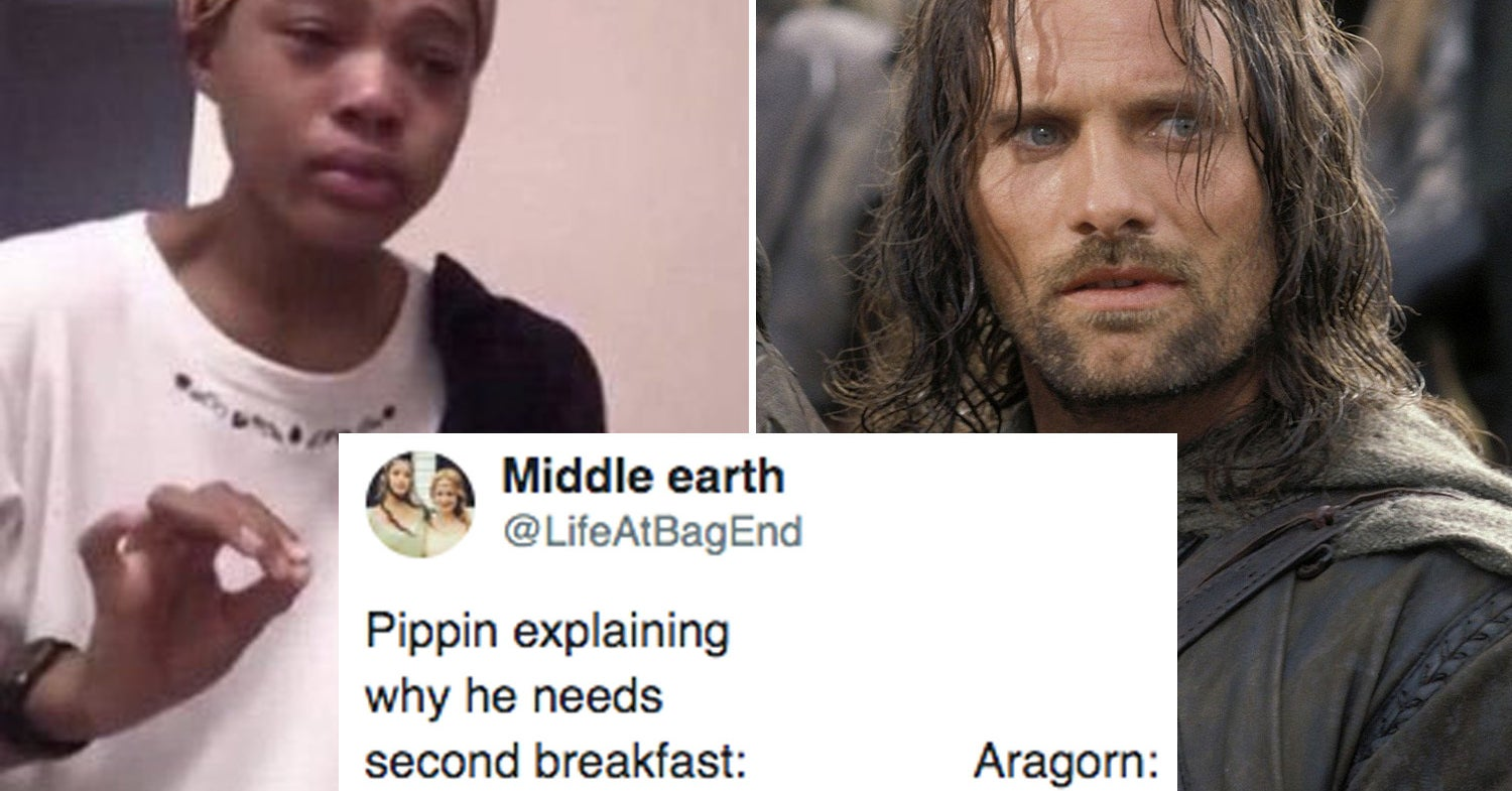 """21 """"Lord Of The Rings"""" Jokes You'll Enjoy Because You're A Big Ol' Nerd"""