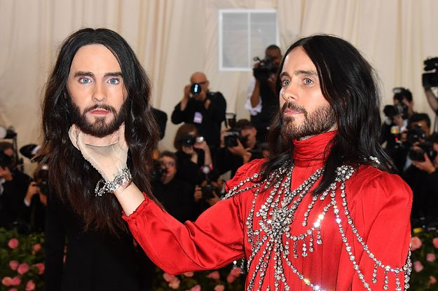 Jared Leto Thinks Someone Stole The Head He Took To The Met Gala And I Need Answers Immediately