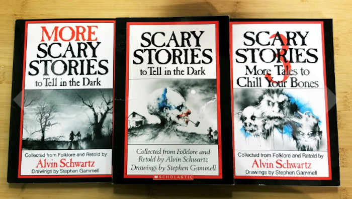 the three books from the box set