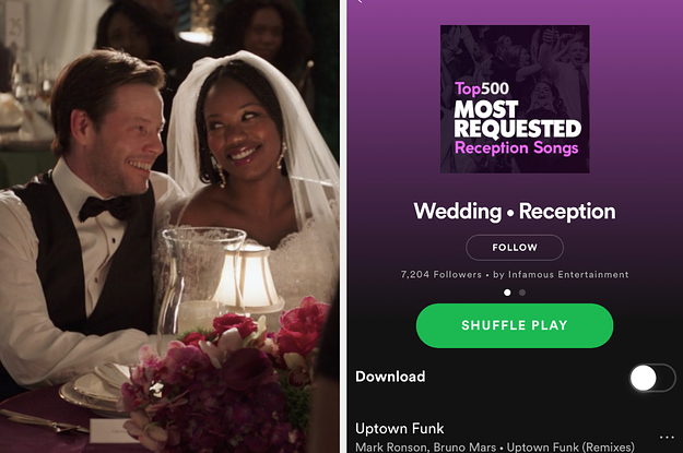 Add 4 Songs To Your Wedding Playlist And Well Reveal The Name Of Your Future Spouse