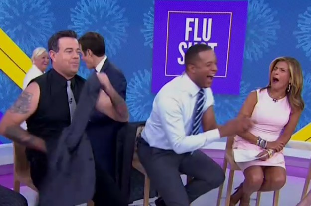 Carson Daly Got A Flu Shot And Showed Off Tattoos I Didn't Know Existed