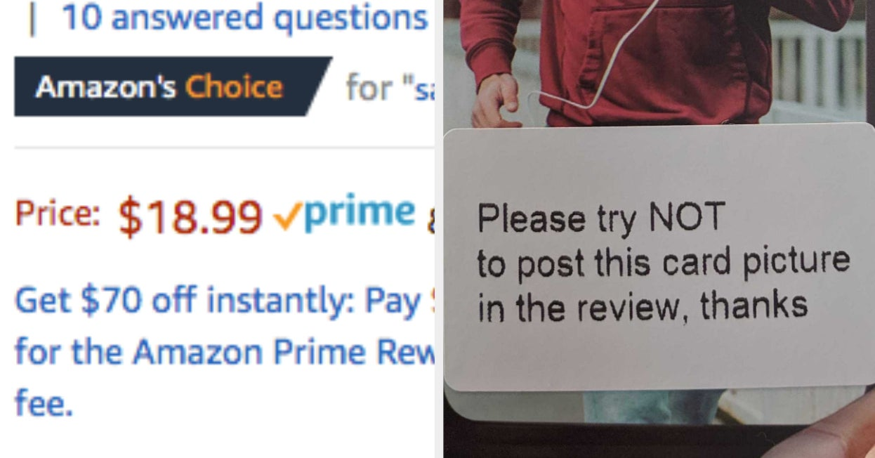 "These ""Amazon's Choice"" Sellers Are Bribing Customers For Good Reviews"