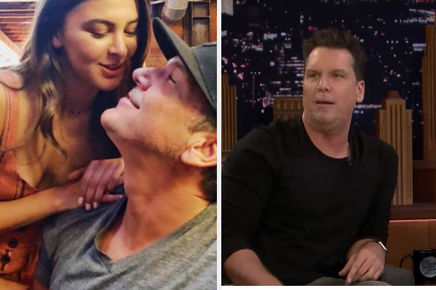 Dane Cook Made A Joke About The 28 Year Age Difference Between Him And His Girlfriend On Fallon