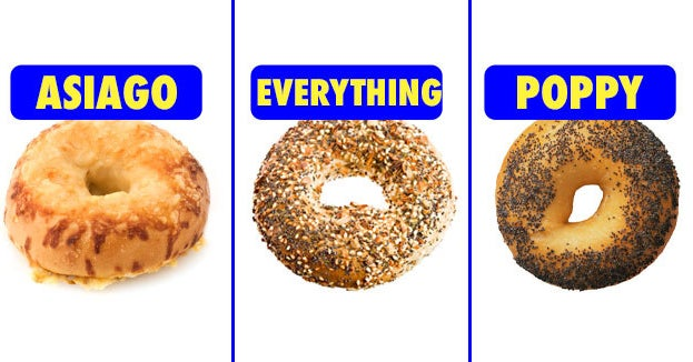 If You've Tried 16/24 Of These Flavors, You're Obsessed With Bagels