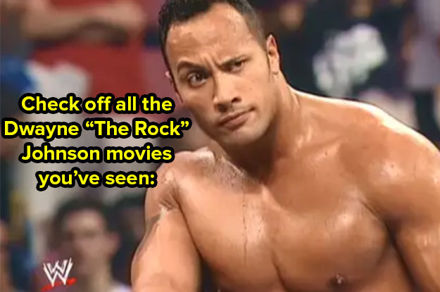 "How Many Dwayne ""The Rock"" Johnson Movies Have You Seen?"