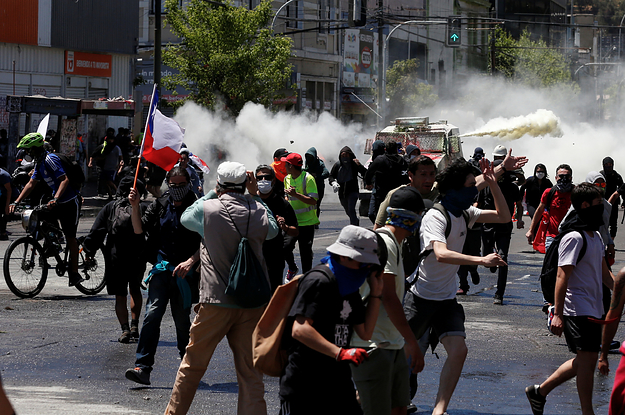 Chile Just Pulled Out Of Hosting The Biggest Climate Conference Of The Year Because Of Violent Protests