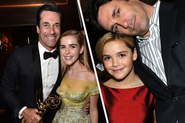 """Kiernan Shipka And Jon Hamm Reunited And How Is There Not A """"Mad Men"""" Reboot Yet?"""