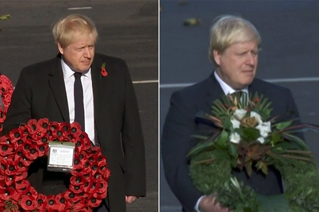 The BBC Has Apologised After Using Old Footage Of Boris Johnson Laying A Wreath