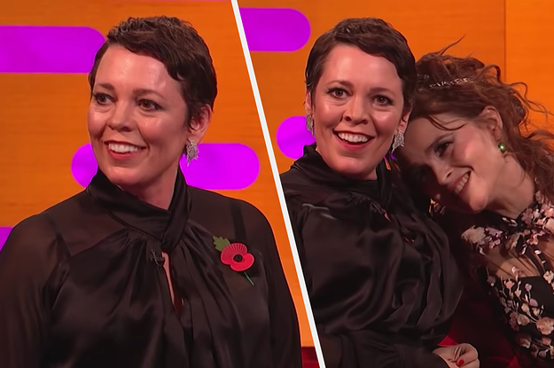 """Olivia Colman Asked Prince William If He's Seen """"The Crown"""" And It Didn't Go Very Well"""
