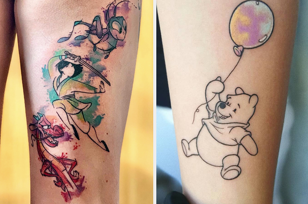 These Are The Most Popular Disney Tattoos In The World
