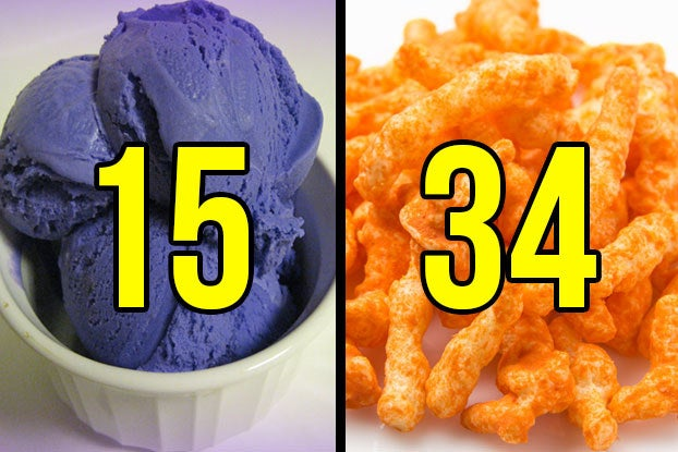 We Know How Old You Are Based On Your Food Color Choices