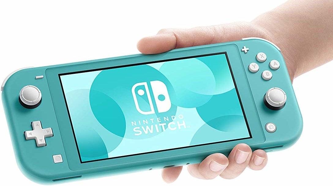 The aqua blue switch