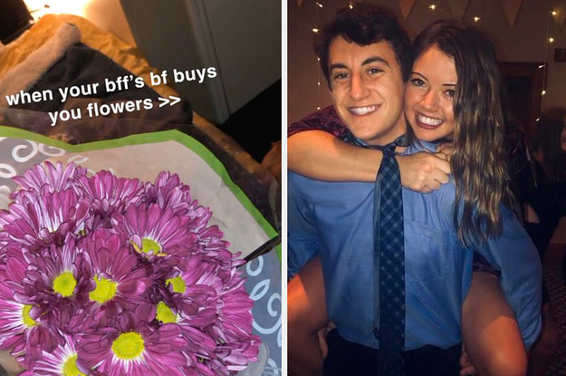 A Woman's Boyfriend Bought Flowers For Her Friend Who Was Going Through A Hard Time. Then Twitter Came With Jokes Of Infidelity.