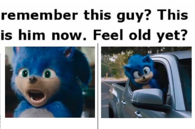 "All The Best And Funniest Jokes About The New ""Sonic The Hedgehog"" Movie Glow Up"