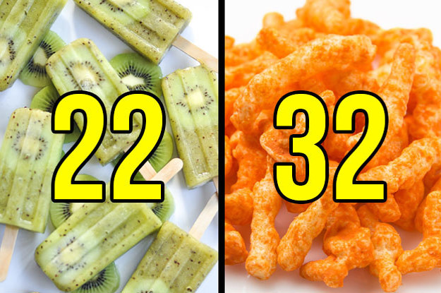 Eat Your Way Through The Rainbow And We'll Guess Your Age