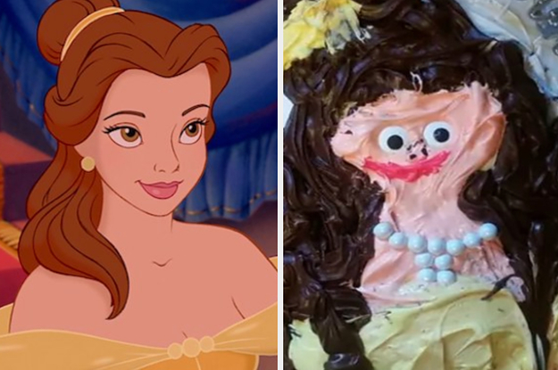 19 Disney Cake Fails That Would Make Mickey Shed One, Single Tear