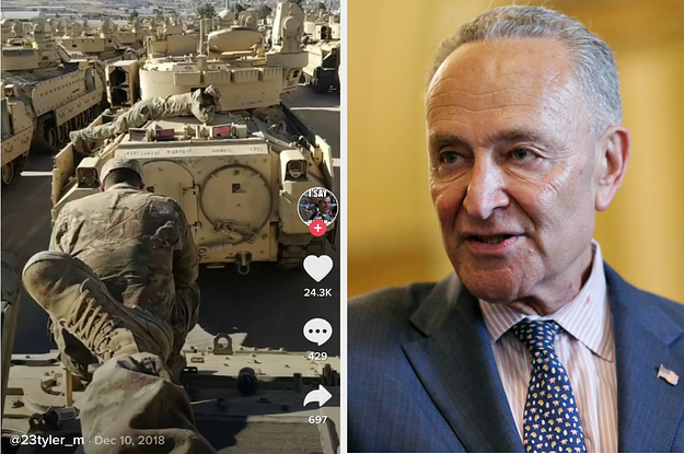 Sen. Chuck Schumer Raises Security Concerns About The Army Using TikTok To Try To Recruit Young People