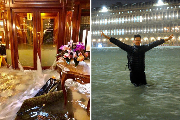 15 Shocking Pictures That Show Just How Catastrophic The Flooding Is In Venice