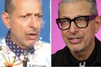 Jeff Goldblum Talked About His Viral Reaction To That