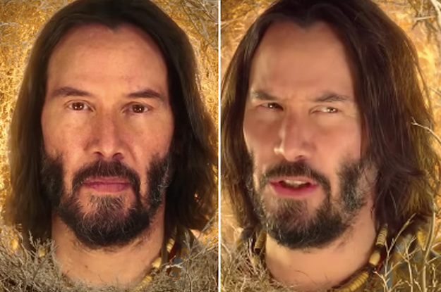 "Keanu Reeves Is In The New ""SpongeBob"" Movie, ""Sponge On The Run,"" And I Cannot Stop Laughing"
