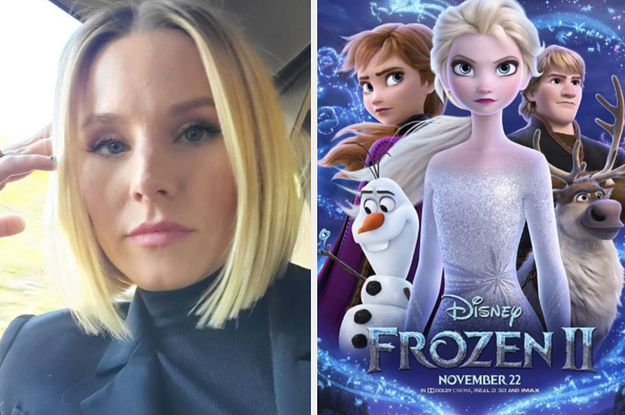 """Kristen Bell Told Her Kids Their Teeth Would Fall Out If They Revealed """"Frozen 2"""" Spoilers At School"""