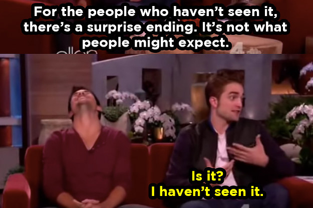 18 Robert Pattinson Moments That Prove He's ...