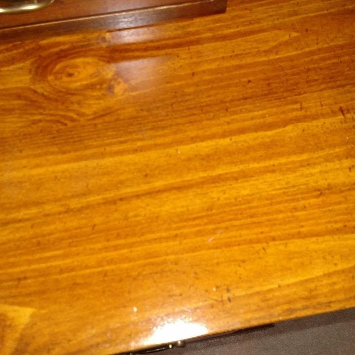 clean and shiny wooden table